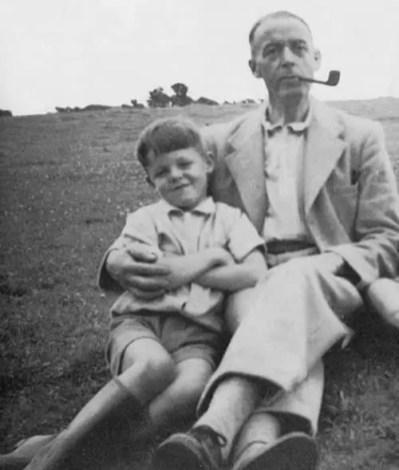 Paul McCartney Childhood Photograph 1940s