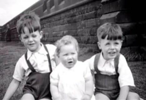 Paul McCartney childhood photograph, 1940s