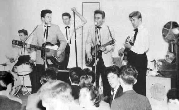 The Quarrymen, New Clubmoor Hall, Liverpool, 23 November 1957