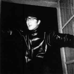 John Lennon in Paris, September 1961