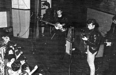 The Beatles at Aintree Institute, Liverpool, 19 August 1961