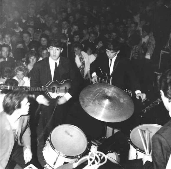 The Beatles, Tower Ballroom, New Brighton, 27 July 1962