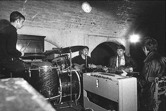 The Beatles, Cavern Club, Liverpool, 22 August 1962