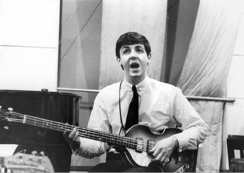 Paul McCartney, EMI Studios, Abbey Road, 4 September 1962