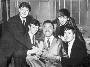 The Beatles with Little Richard, Tower Ballroom, New Brighton, 12 October 1962