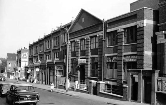 Decca Studios, 165 Broadhurst Gardens, West Hampstead, London, 1963