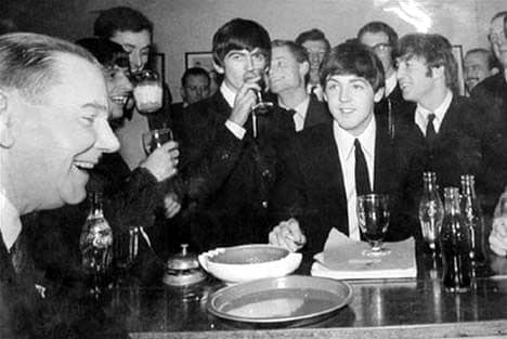 The Beatles at Vincents, Oxford, 16 February 1963