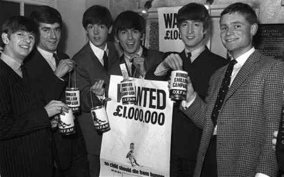 The Beatles with Jeffrey Archer, 12 June 1963