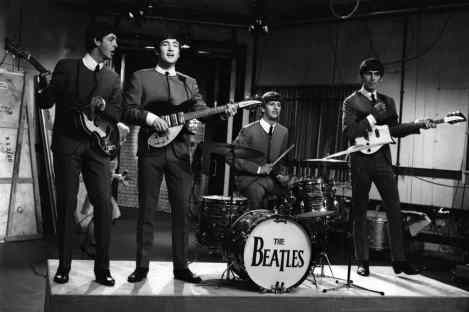 The Beatles' first appearance on Ready, Steady, Go!, 4 October 1963