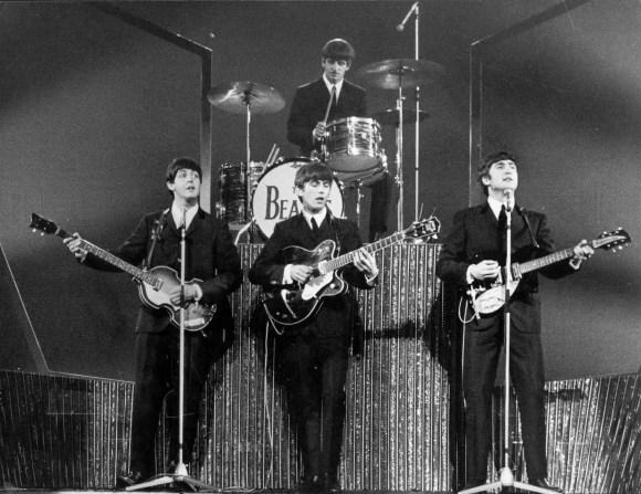 The Beatles at the London Palladium, 13 October 1963