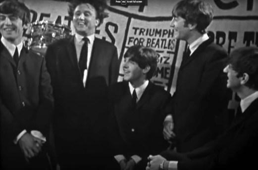 The Beatles and Ken Dodd, Manchester, England, 25 November 1963