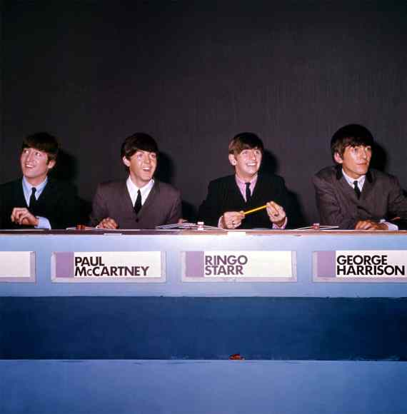 The Beatles on Juke Box Jury, 7 December 1963