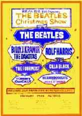 Poster for The Beatles' Christmas Show, 1963-64