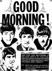 The Beatles say good morning!, 1964