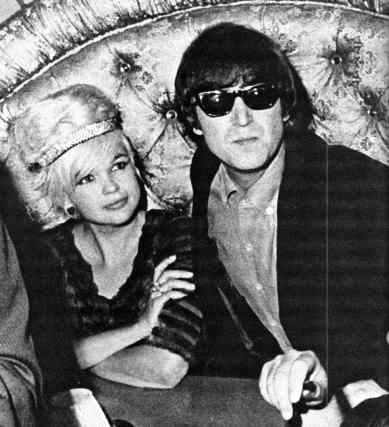 John Lennon and Jayne Mansfield, 25 August 1964