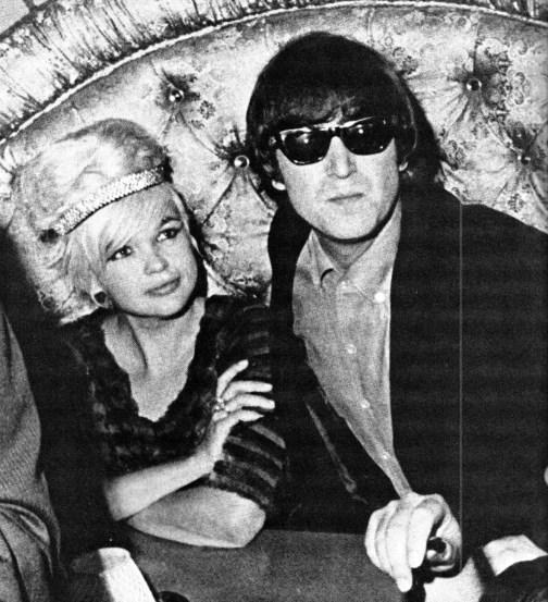 John Lennon and Jayne Mansfield, 25 August 1964