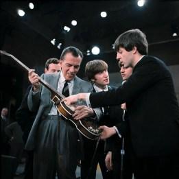 The Beatles with Ed Sullivan, 9 February 1964