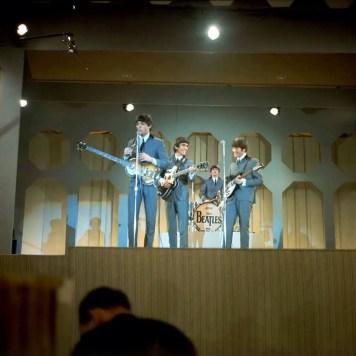 The Beatles on the Ed Sullivan Show, Miami, 16 February 1964