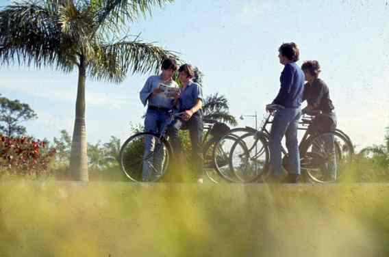 The Beatles filming Help on New Providence Island, Bahamas, 24 February 1965