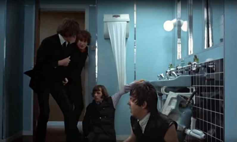 The Beatles in Help!, 29 April 1965