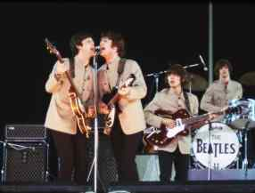 The Beatles at Shea Stadium, 15 August 1965