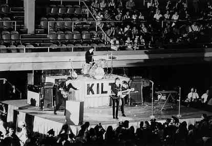 The Beatles at Sam Houston Coliseum, Houston, 19 August 1965