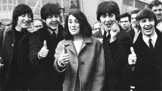 The Beatles with Eleanor Bron, 1965
