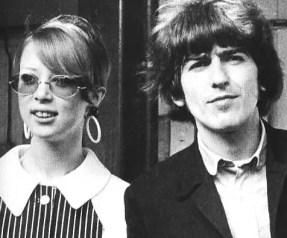 George and Pattie Harrison, 1966