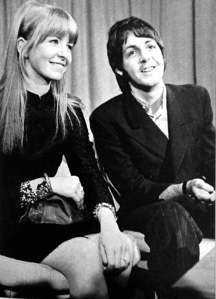 Paul McCartney and Jane Asher, 26 March 1968