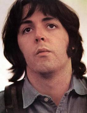 Paul McCartney in Apple Studios, February 1969