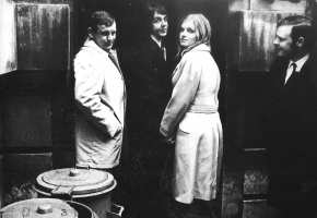 Paul and Linda McCartney, 1969