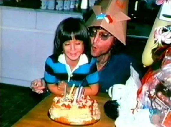 John and Sean Lennon, 9 October 1980