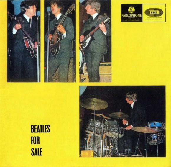Beatles For Sale album artwork - Australia