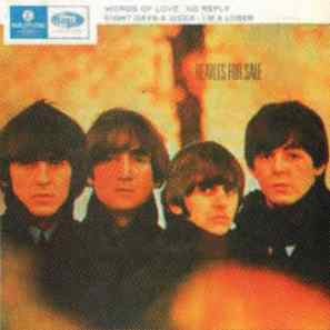 Beatles For Sale EP artwork – Australia