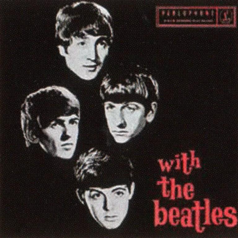 With The Beatles album and EP artwork - Australia
