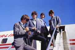 The Beatles at Sea-Tac Airport, Seattle, 22 August 1964