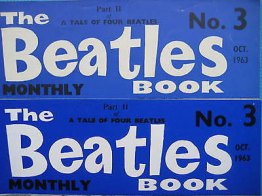 Beatles Book Monthly issue 3 – original and reprint