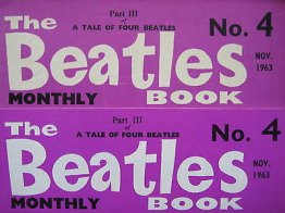Beatles Book Monthly issue 4 – original and reprint