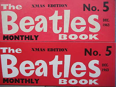 Beatles Book Monthly issue 5 – original and reprint