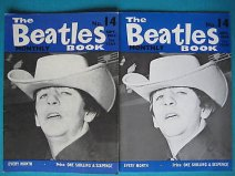 Beatles Book Monthly issue 14 – original and reprint