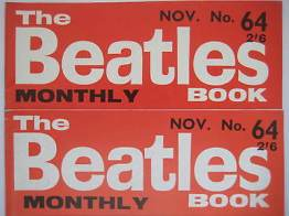 Beatles Book Monthly issue 64 – original and reprint