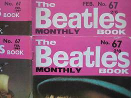 Beatles Book Monthly issue 67 – original and reprint