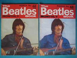 Beatles Book Monthly issue 68 – original and reprint