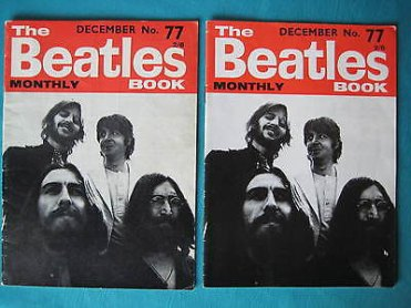 Beatles Book Monthly issue 77 – original and reprint