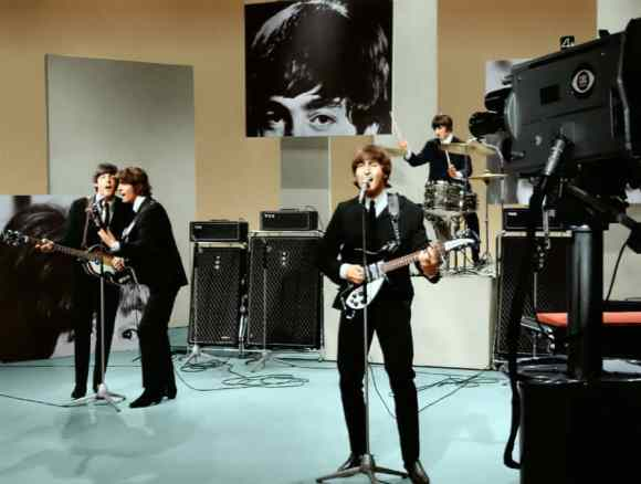 The Beatles on the Ed Sullivan Show, 14 August 1965