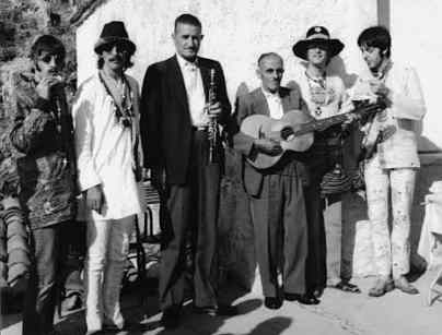 The Beatles in Greece, 23 July 1967