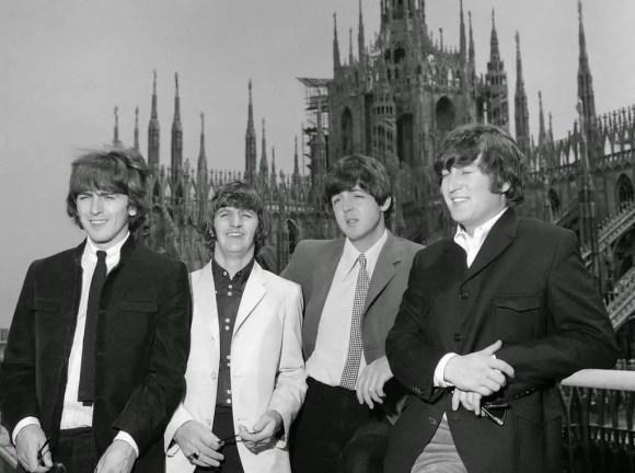 The Beatles in Milan, Italy, 24 June 1965