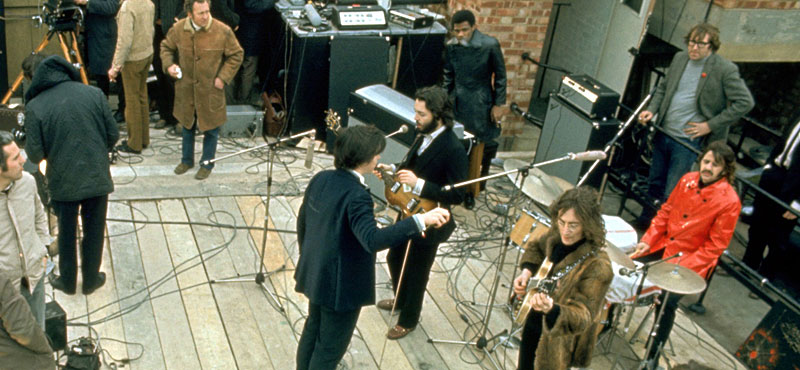 The Beatles' rooftop concert (Apple building) - The ...