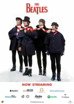 The Beatles on streaming services