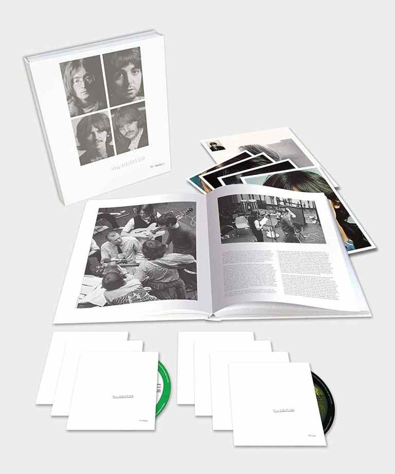 The Beatles' White Album –2018 super deluxe box set with six CDs and Blu-ray